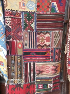 Patchwork of old rugs, Ankara