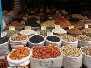 Dried fruit, nuts and seeds in Ankara